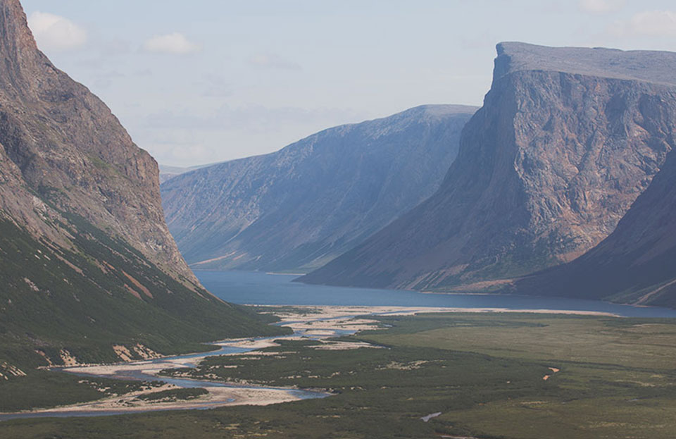 The mythical<br/>Torngat mountains